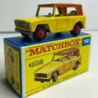 OLD VINTAGE LESNEY MATCHBOX  18 FIELD CAR ORIGINAL BOX