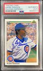 Andre Dawson auto signed card 1990 Upper Deck #357 Chicago Cubs PSA Encapsulated