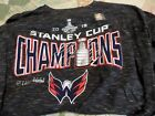 Washington Capitals 2018 Stanley Cup Champions Men's 4 XL T-Shirt Locker Room