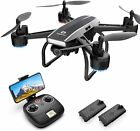 DEERC D50 FPV Drones with 2K HD Wifi Live Video Wide Angle Camera RC Quadcopter