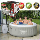 4 PERSON INFLATABLE HOT TUB SPA Coleman Saluspa 71 x 26 Tahiti Airjet Jacuzzi