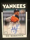 CC Sabathia Cards, Rookie Cards and Autographed Memorabilia Guide 15