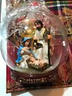 HEIRLOOM CHRISTMAS NATIVITY LIGHTED ORNAMENT RADIO CITY MUSIC HALL 75 YEARS NIB