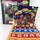 Fisher Price Little People Fabric Christmas Nativity Advent Calendar Complete
