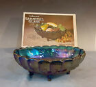 Indiana Glass Carnival Fruit Bowl 2211 with Box
