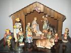Hummel Nativity Set 214 TMK2 Full Bee 18 pieces with Stable