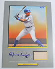 2005 Topps Turkey Red Alfonso Soriano Autograph Game Bat 70 75 #TRAR-AS Card