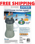 Intex 1000 GPH pump Krystal Clear Cartridge Filter Pump for Above Ground Pools