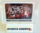 Kawhi Leonard 2019-20 Panini One and One Timeless Moments AUTO Silver 49 Signed