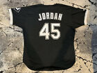 Chicago White Sox Michael Jordan Vintage Russell Authentic Lettered Jersey 52