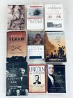 LOT of 9 Nonfiction Books Native American US World History Lincoln Washington