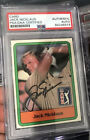 Jack Nicklaus Cards and Autograph Memorabilia Guide 31