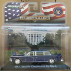 Presidential Limo  1961 Lincoln Continental  John F Kennedy  Greenlight 143