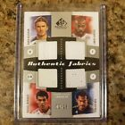 MLS SP Game Used Fabrics Quad Relic 25 David Beckham Thierry Henry Marquez