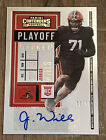 2020 Panini Contenders Football Cards - Final SP/SSP Ticket Checklist 49