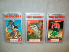 TIME MACHINE CYOA Choose Your Own Adventure 3 Book Lot 1 2 3