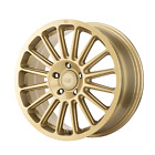 MOTEGI MR141 17 Inch 5x112 Wheel Rim 17x75 +40mm Gold
