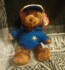 TY Originals Beanie Babies -Dear Dad- Retired -Tags and Protector. Hallmark 74d