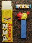MAGGY COCKATOO / VENDING BOX / VINTAGE PEZ WITH CANDY ROLL  / PERFECT CONDITION