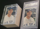 Mickey Mantle Yankees Autographed 1982 ASA Mickey Mantle Story Set #1 Card