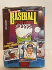 1986 Donruss Baseball Wax Box Possible Fred McGriff Jose Canseco Fielder PSA 10