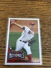 2010 Topps #661 STEPHEN STRASBURG Rookie Card RC Nationals