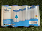 Summer Waves UNIVERSAL Pool FILTER CARTRIDGE REPLACEMENT A C 4pk Fast Shipping