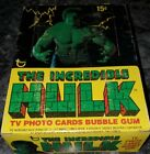 1979 INCREDIBLE HULK marvel WAX BOX 36 PACKS TOPPS shrink wrapped nice