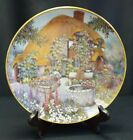 Limited Edition Franklin Mint Lilliput Lane Collector Plate Wishing Well Cottage