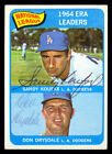 Don Drysdale Cards and Autographed Memorabilia Guide 47