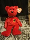TY Beanie Babies Graf Von Rot  with  Tag Protector  49d