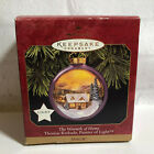 Hallmark Keepsake Ornament Warmth of Home Thomas Kinkade 1997