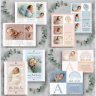 Personalised Baby Thank You Cards  Photo Birthday Thank You Cards  New Baby