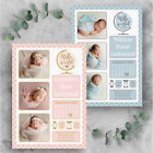 Personalised Photo New Baby Thank You Cards Birthday Thank You Notes With Photo