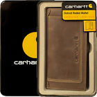 Carhartt Wallet Mens Detroit Rodeo Leather Wallets Brown