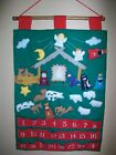 FABRIC NATIVITY SCENE ADVENT CALENDAR 1989 KUBLA CRAFTS