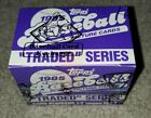 1985 Topps Traded Baseball Set (132 Cards) BBCE Wrapped factory unopened