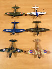 1977 World War II Universal Series Die Cast Metal Airplane lot Vintage 1100