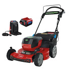 Recycler 22 In Smartstow 60 Volt Max Lithium Ion Cordless Battery Walk Behind M