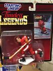 Starting Lineup 1995 NHL Timeless Legends Gordie Howe Figurine and card