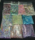 Glitter Mix Spring Neon Edition acrylic gel nail art Butterfly Mickey USA seller