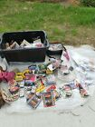 A huge lot of collectible cars keychains etc