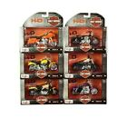 Harley Davidson Motorcycles 6 Piece Collection Die Cast 118 Scale Series 38
