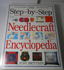 Step by Step Needlecraft Encyclopedia Knitting Crocheting Quilting Sewing Book