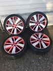 """RENAULT CLIO MK4 RS/ GT LINE 17"""" INCH ALLOY WHEELS  SET OF 4,, 2012 /2018"""