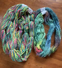 Cherry Tree Hill Yarn Lot Of 5 Mohair Thick N Thin