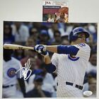 Autographed Signed ANTHONY RIZZO Chicago Cubs 8x10 Baseball Photo JSA COA Auto