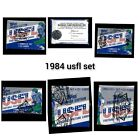 1984 TOPPS USFL FOOTBALL COMPLETE SET BBCE AUTHENTICATED YOUNG KELLY RCs