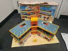 VTG 1970s Lesney Matchbox Toy Super Parking Garage W Elevator 3Level Incomplete