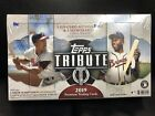 2019 Topps Tribute Hobby Box. Factory Sealed 3 On-Card Autographs, 3 Memorabilia